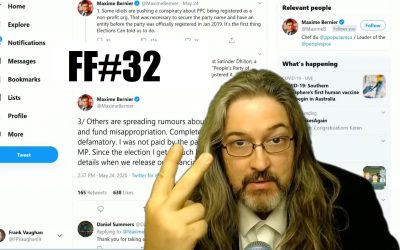 The Frank Five #32 – PPC: Two Not For Profits? Two Boards? A Gold Plated Pension Plus A Wage?