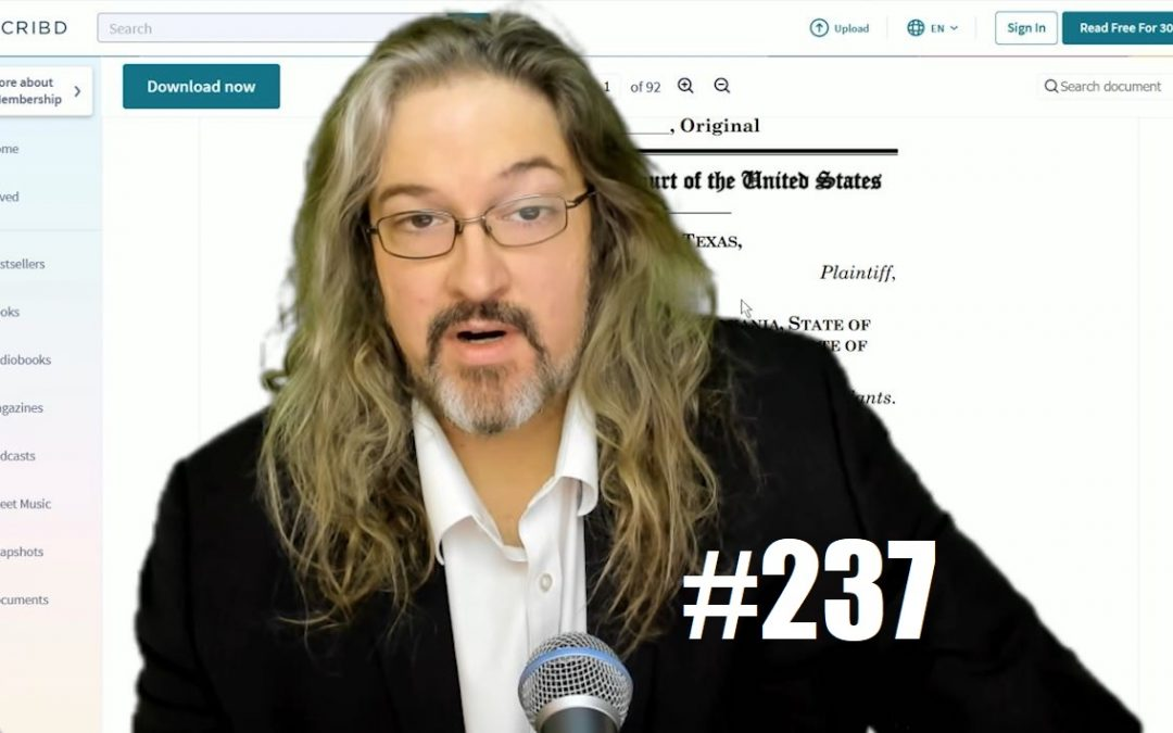 FPV #237 – ELECTION 2020: Lawsuits, Media, Trump, And A Word About Doug Ford